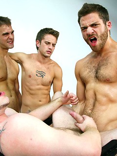 Timmy Defendi and his horny friends take turns at pleasing one another's cocks