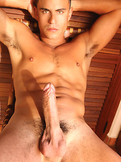Rafael Carreras finally talked a friend into drooling on his delicious cock