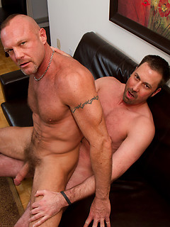 Chad Brock gets his ass plowed by his boyfriend Anthony's thick meat pole