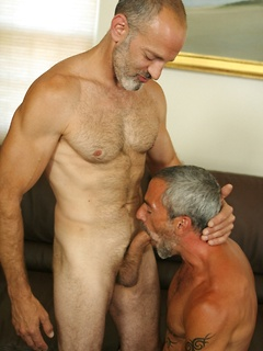 Horny gay guy needs to blow a hard cock before getting his butt smashed
