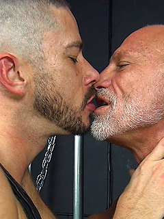 Naughty gay guy has to moan loudly while a friend bangs his tight asshole