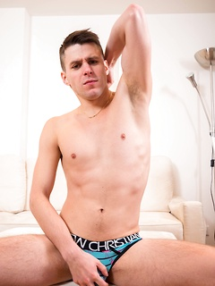 One of the things this kinky guy loves is playing with his stiff pecker