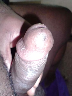 Amateur black dicks look hot as the guys snap self pics and stroke