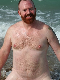 Naughty dude likes to jerk off his cock on the beach while no one is watching