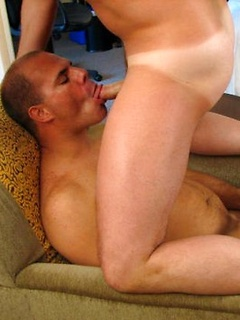 Tyler Reed likes to make out with a friend while he fucks his tight ass