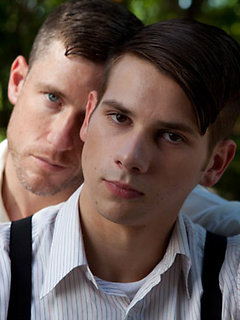 Gorgeous gay models show us what happens when their passion for anal ignites