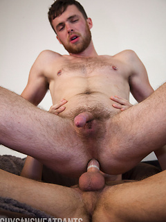 Hot guy Ty Roderick uses his thick cock to fuck the willing ass of a cutie