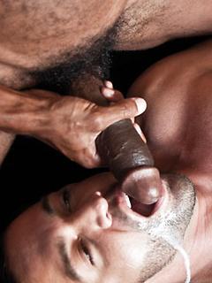 Black guy Sean Xavier and Latin hottie Dominic Pacifico have interracial sex