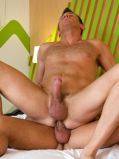 Ettore Tosi loves nothing more than getting his ass fucked by Damien Crosse