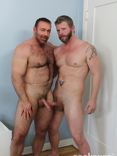 Brad Kalvo is an utterly perfect bear and he gets some bareback ass today