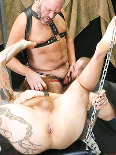 Three naughty guys like to suck stiff dicks before they get their butts drilled